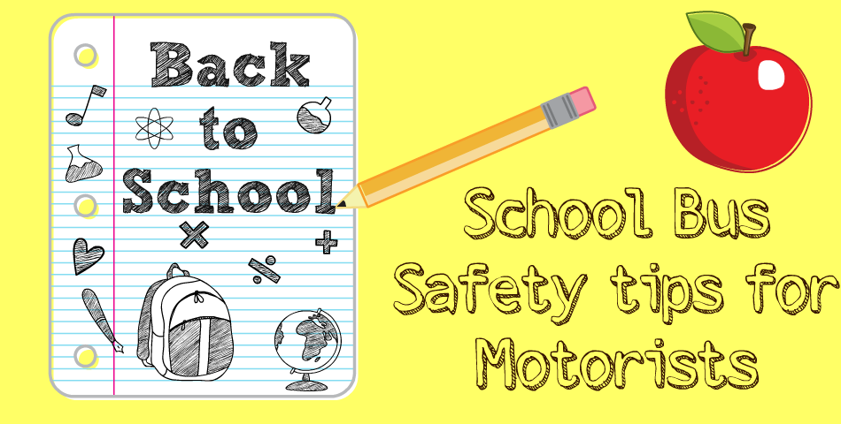 School Bus Safety tips for Motorists