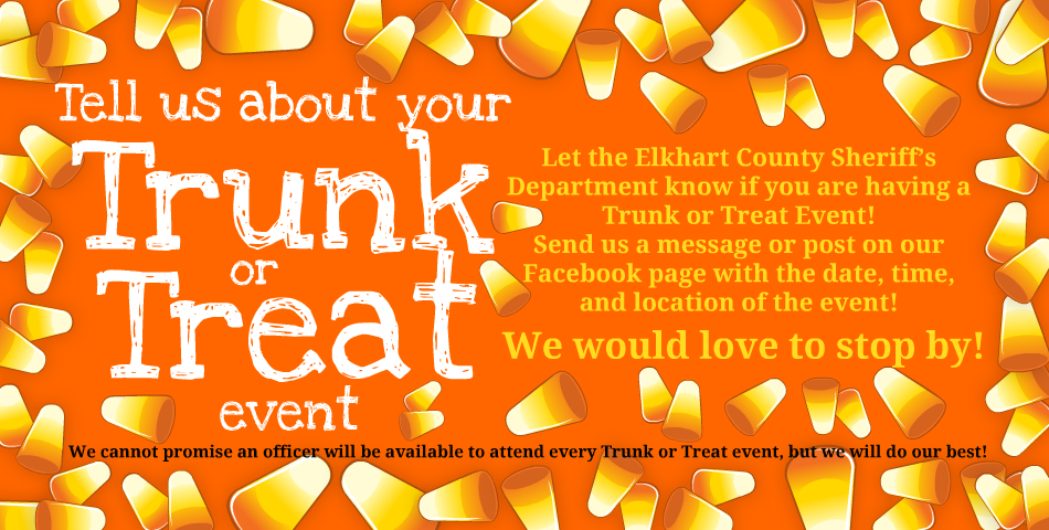 ECSD wants to Trunk or Treat with you!